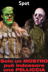 Copertina del video: Solo un mostro può indossare una pelliccia