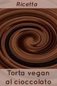 Copertina del video: Torta vegana al cioccolato